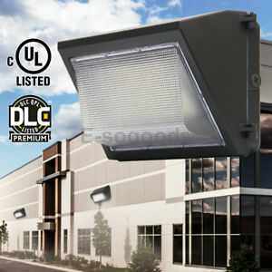 Led 60w 120w Wall Pack Fixture Outdoor Wall Mount Security Lighting Parking Lot