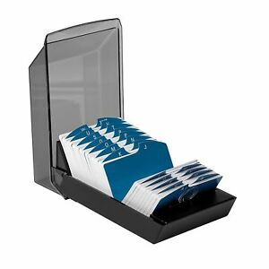 Rolodex 67011 Rolodex Covered Business Card File 500 2 1 4x4 Cards 24 A z