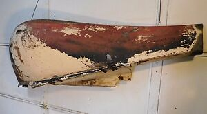 Mg Td Front Right Fender Rustfree nice original great One To Work With