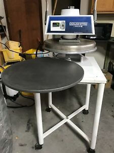 18 Heated Pizza Dough Press With Stand Dough Pro Dp1100a