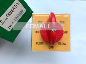 2pcs New Gelei T 16exf64d 6 Universal Changeover Combined Rotary Switch