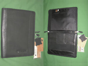 8 5x11 Note Pad Black Leather Canyon Outback Binder Monarch Franklin Covey