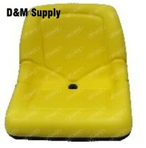 John Deere Tractor Seat Am116408 1200a Bunker Rake Gator 4x2 6x4 With Drain Hole