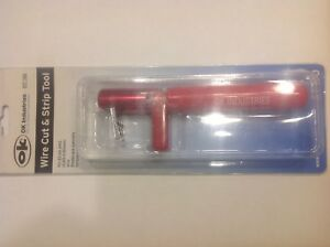 Ok Industries Wire Stripper 24 To 22 Awg 6 In St 100