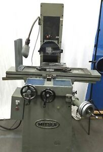 Mitsui 6x12 Surface Grinder Super Precision Pristine Condition