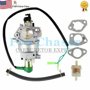 Carburetor For 5500w To 8000w Sigma Power Products Northstar Wen Power Generator