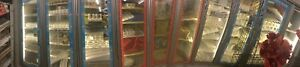 Walking Cooler 10 Glass Doors 36 Entrances Door And 10 Display Shelves L Mew