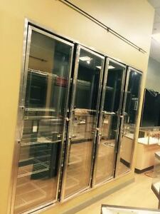 4 Glass Door Walk In Freezer With Blower Compressor 2 Boxes Available