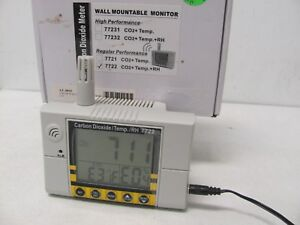 Carbon Dioxide Temperature Humidity Iaq Meter Co2 Detector 0 2000ppm Range
