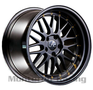 18x8 18x9 5x110 Jnc 005 Matte Black Made For Pontiac Saab Saturn Dodge