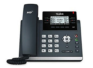 Yealink Sip t41p Voip Sip Telephone With Power Refrb Wrnty