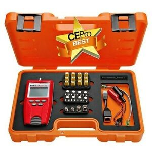Rj45 Network Lan Ethernet Bnc F Coax Coaxial Cable Tester Kit Platinum Tools