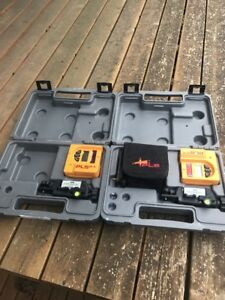 Lot Of 2 Pacific Laser Systems Pls Sld Detector Clamp And Case