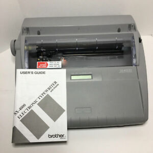 Brother Sx 4000 Electronic Typewriter Word Dictionary With Manual