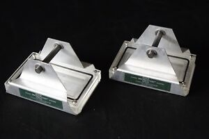 Qty 2 Cooke Microtiter Plate Centrifuge Carrier Swing Buckets