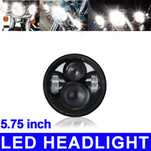 5 75 3 4 Motorcycle Projector Led Light 40w Headlight Lighting For Black
