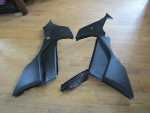 Porsche 944 Turbo Black Rear Speaker Quarter Panel Left Right Panels