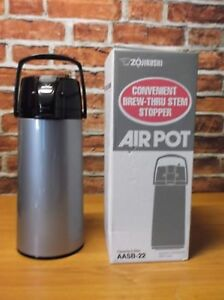 Air Pot Coffee Beverage Dispenser Container Electric Server Cordless Brewer