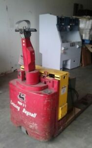 Lansing Bagnall Poep 2 1 Electric Pallet Jack With Christie Battery Charger
