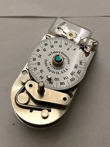 Lefebure Round Bottom Time Clock Lock Movement Safe Vault New W Issue Le Febure