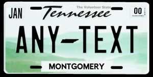 New Custom Personalized Tennessee Vanity License Plate