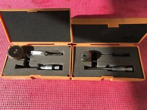 Exl Mitutoyo Intrimik Bore Holtest Inside Micrometer 275 To 500 In W 2 Rings