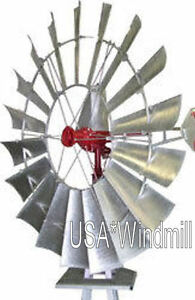 A702 Usa windmill 8ft Windmill With 27ft Tower New Free Shipping