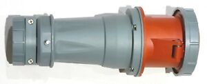 100 Amp Pin And Sleeve Female Connector Socket 3 Pole 4 Wire 480v 3 Phase 100a