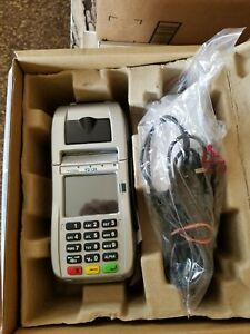 First Data Fd 130 Terminal With Internal Pin Pad emv nfc wifi 001867064 new