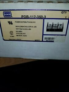 Ilsco Power Distribution Block Pdb 112 350 3 New In Box