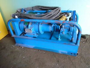 Climax Portable Line Boring Bar Or Other Portable Machines Hydraulic Pump Only