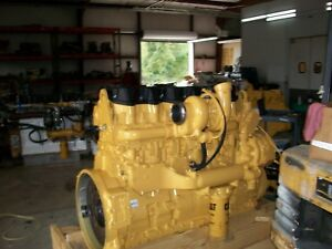 Reman Caterpillar C 15 engines Every Part Is New 550 Hp 6nz S n
