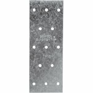 150 Pack Simpson Strong tie Steel Tie Plate 1 3 16 In W X 5 In L 20 Gauge