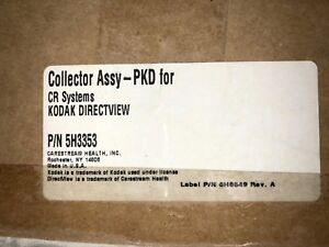 Carestream Health 5h3353 Collector Assembly Pkd For Cr Systems Kodak Directview