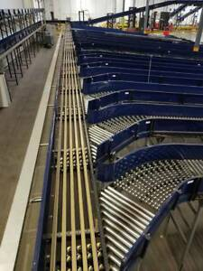 Vanderlande Nbs Narrow Multi Belt Sorter Sortation Conveyor 24 X 38 10