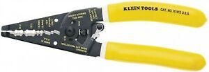 Klein Tools Wire Stripper Cutter 7 3 4 In Kurve Dual Non metallic Cable K1412
