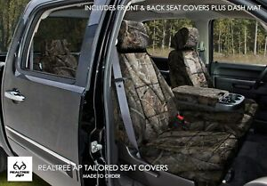 Coverking Realtree Ap Camo Seat Covers Dash Cover For Dodge Ram Full Set