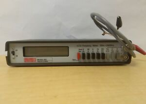 Ok Electronics Division Model 510 Lcd Frequency Meter