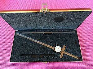 Starrett 12 Inch Depth Micrometer Model 450 With 12 Inch Base machinist Tools