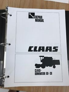 Claas Dominator 68 38 Service And Repair Manual