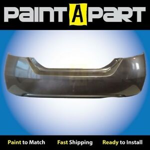 2006 2007 2008 Honda Civic Coupe Rear Bumper Painted Nh701m Galaxy Gray Metallic