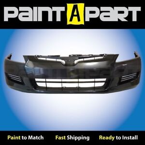 For 2003 2004 2005 Honda Accord Coupe Front Bumper Painted Nh658p Graphite Pearl