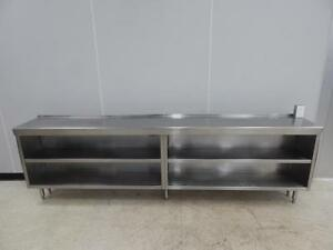 Stainless Steel Cabinet Table 112 X 16