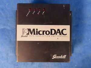 Grayhill Microdac Data Acquisition Control Unit 72 mdc 32d 1 Year Warranty