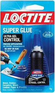 Loctite 1363589 6 Ultra Gel Control Super Glue 4g Bottles Case Of 6 Caulks Tapes