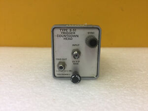 Tektronix S 51 1 To 18 Ghz Trigger Countdown Head For 7s 7000 Series Tested