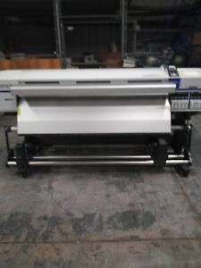 Epson Wide Format Printer Laminator And Cutter Bundle Good Condition