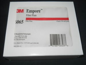 3m Empore 96 well High Performance Extraction Disk Filter Plate 6065