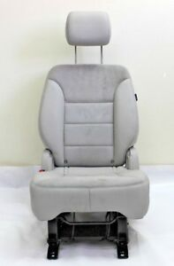 New Oem 11 13 Mercedes R251 R Right Rear Second Row Folding Seat Gray Suede