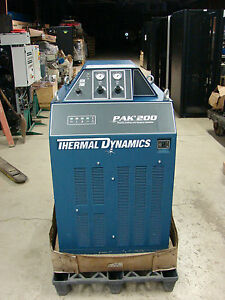 Reduced Thermal Dynamics Pak 200 Gcm 1000 Plasma Cutter Nos New Never Used
